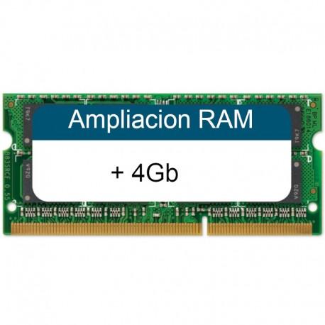 Ampliacion Ram DDR3 para PC (+4Gb)