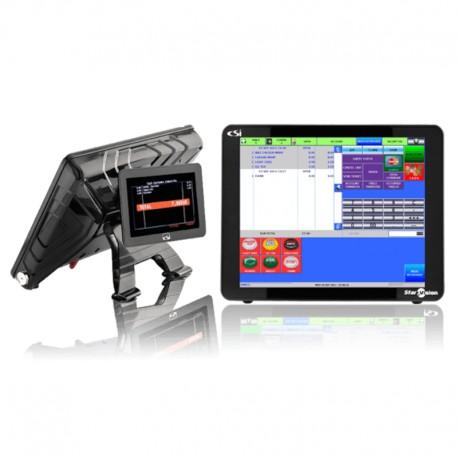 Terminal TPV Tactil CSI Starvision+ con pantalla trasera